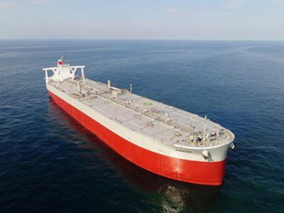 Kawasaki delivers newly developed 311,000-ton VLCC KISOGAWA