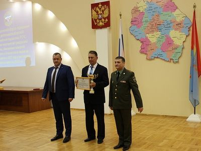 Tambovenergo division recognized as the best enterprise of the region in terms of level of training in the field of civil defense and emergency situations