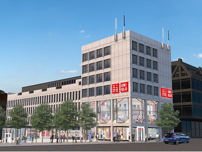 UNIQLO launches in Sweden in fall 2018 - first store to open in Stockholm City Center is Adjacent to the King's Garden