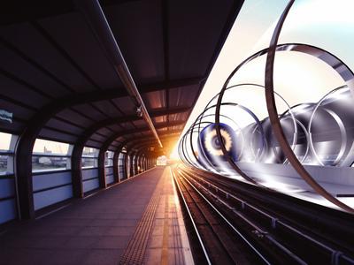 Высокоскоростная линия Hyperloop появится во Франции