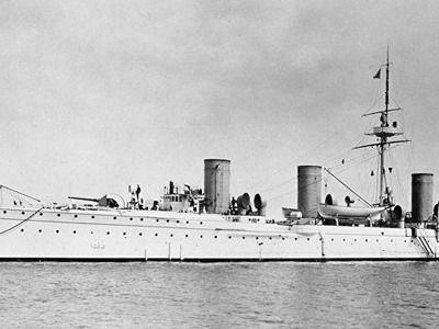 В глубинах Финского залива покоится давно потерянный корабль «Новик»