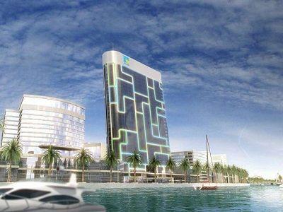 В Дубае строят необычный небоскрёб