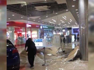 В Иркутске обрушился потолок ТЦ