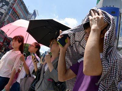 Из-за аномальной жары в Японии погибло 65 человек