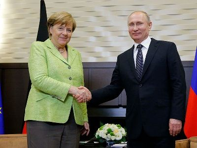 Vladimir Putin Meet German Chancellor Angela Merkel: the Result of the Conversation