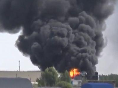 На химическом заводе в Дзержинске в результате пожара погиб человек