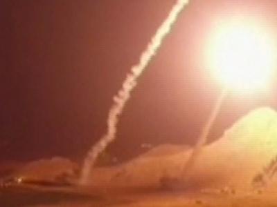 Иран нанёс в Сирии ракетный удар по террористам