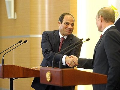 Putin and Al-Sisi Discussed the Resumption of Direct Flights
