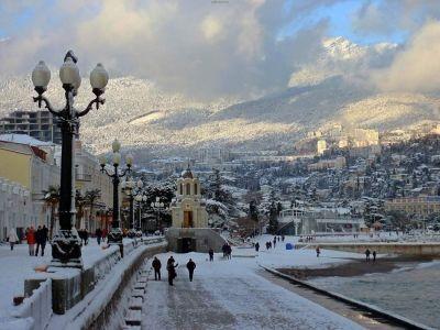 Крым стал вторым популярным направлением на новогодние праздники