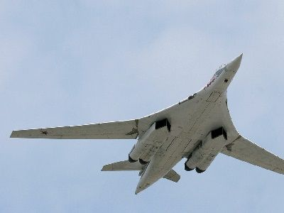Russian TU-160 Ten Hours Spent in the Sky Over the Caribbean Sea