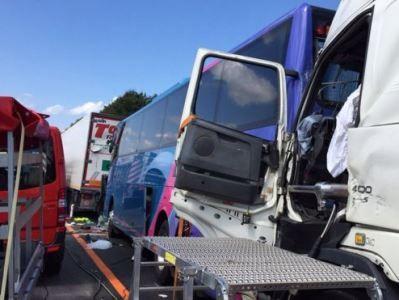 В Швейцарии разбился автобус, пострадали 10 россиян