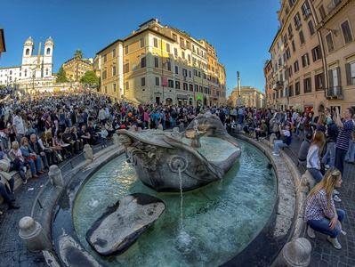 Власти Рима составят чёрный список иностранных туристов