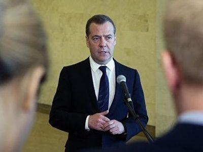 Медведев прокомментировал результаты выборов на Украине