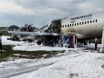 In the Superjet Crash in Sheremetyevo 41 People Were Killed