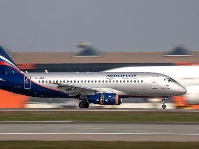 Задержан вылет двух лайнеров SSJ100 «Аэрофлота» из Москвы