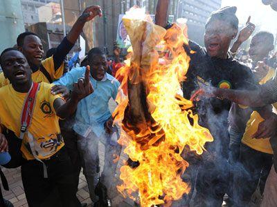 В ЮАР разочаровываются в партии Нельсона Манделы
