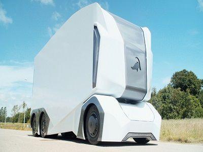 На дорогах Швеции появились беспилотные электрогрузовики
