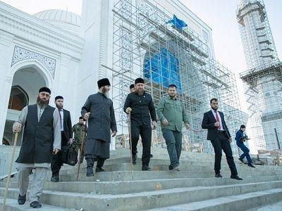 В Чечне откроют самую большую в Европе мечеть