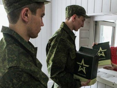 Замминистра обороны рассказал о питании российских солдат