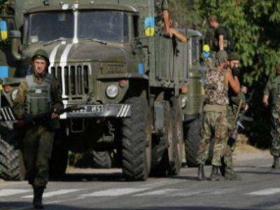 Донецкие военные взяли в плен восемь украинских солдат
