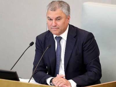 Спикер Госдумы поддержал идею об отмене визового режима между Россией и Вьетнамом