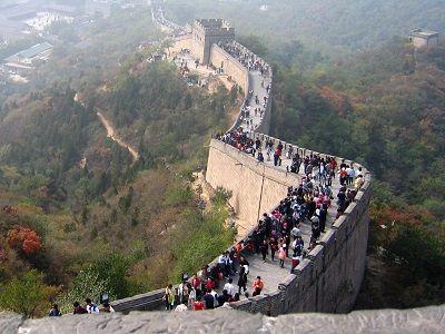 Доступ туристов на Великую Китайскую стену будет ограничен