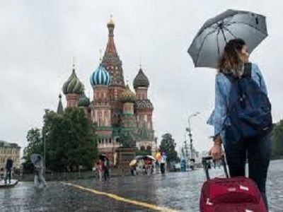 """""""Жёлтый"""" уровень погодной опасности объявлен в Москве на вторник"""