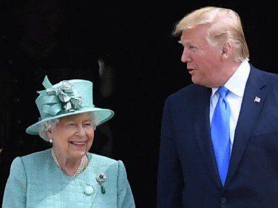 Королева Великобритании посрамила Трампа
