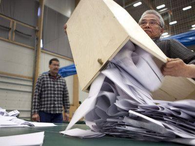 Оппозиция празднует победу на выборах в парламент Дании