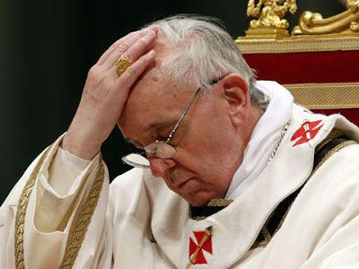 Папа Франциск исправил ошибки в молитве «Отче наш»