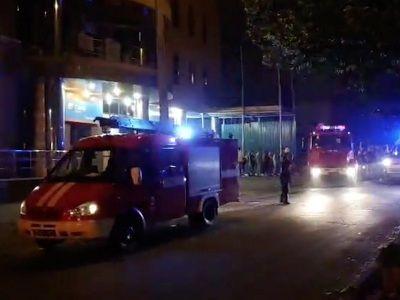 В центре Киева произошёл взрыв