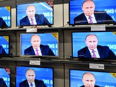 Опрос ВЦИОМ показал, сколько россиян интересуется прямой линией с президентом