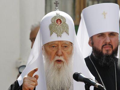 Филарет бросил вызов Православной церкви Украины