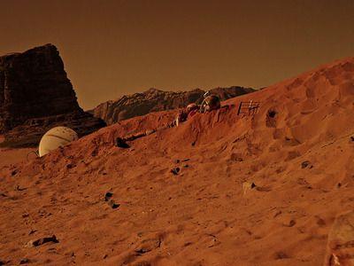 На Марсе нашли возможные признаки жизни