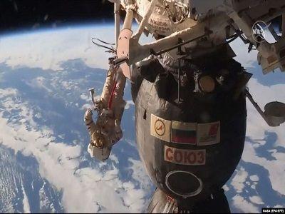 Экипаж МКС вернулся на Землю спустя семь месяцев