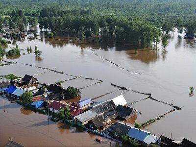 В районе паводка в Иркутской области погиб человек, ещё несколько пропали без вести