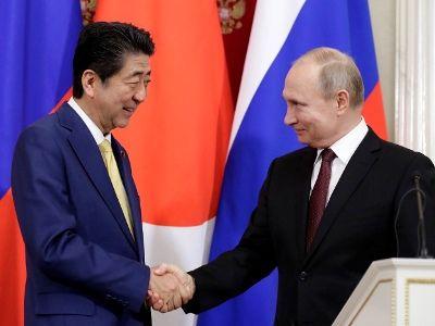 Путин и Абэ обсудили перспективы заключения мирного договора между Россией и Японией