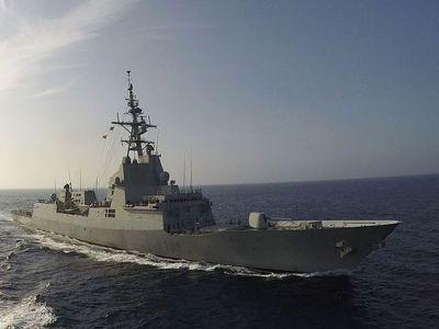 Американский эсминец вошёл в акваторию Чёрного моря