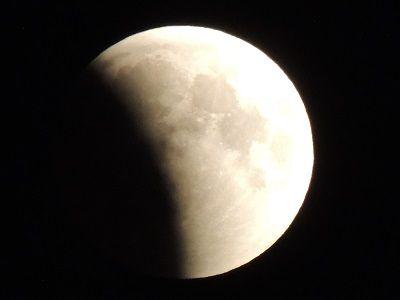 Вместо солнечного затмения россияне увидят лунное