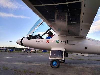 Фёдор Конюхов вылетел из Москвы в Крым на самолёте с солнечными батареями