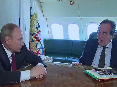 Путин рассказал о ситуации на Украине в интервью режиссёру Оливеру Стоуну