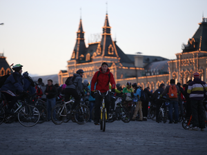 Night Bicycle Festival in Moscow will be Held on July 13