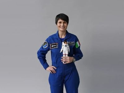 The First Woman Astronaut of Italy Became the Prototype of Barbie