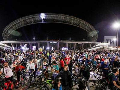 Night Cycle Fest in Kazan Gathered 5 Thousand People