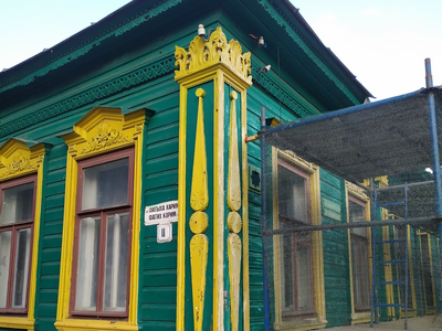 """In the Framework of """"Tom Sawyer Fest"""" the Reconstruction of the House of Berkutov Has Began"""