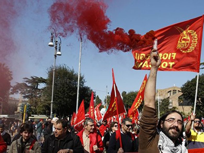 Aviation Workers are on Strike in Italy