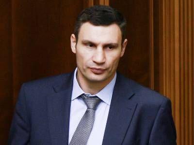 Правительство Украины не будет рассматривать вопрос об увольнении Кличко