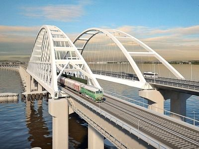 Trains on the Crimean Bridge Will be Launched before the End of the Year