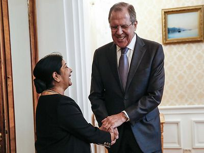 Lavrov: Russia Hopes for Expansion of Military-Technical Cooperation with India Following the Forum in Vladivostok