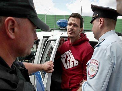Яшин получил пятый административный арест подряд